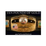 Ten Pounds Of Gold Magnet (10 pack)