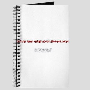 Illiterate Journal