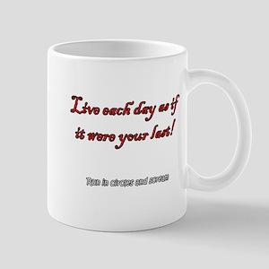 How to Live Mug