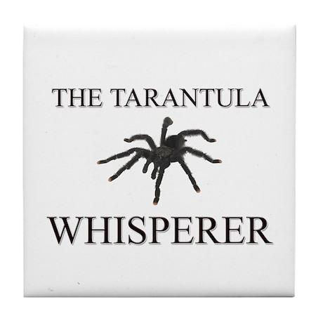 The Tarantula Whisperer Tile Coaster