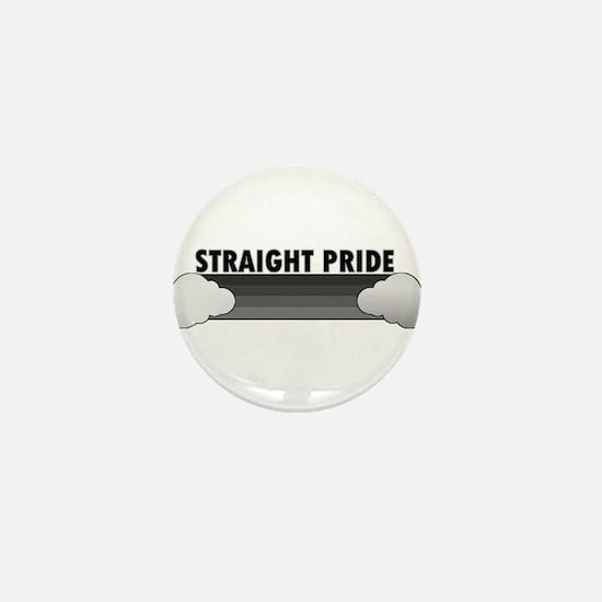 Cute Straight pride Mini Button