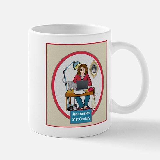 Woman Writer Mug