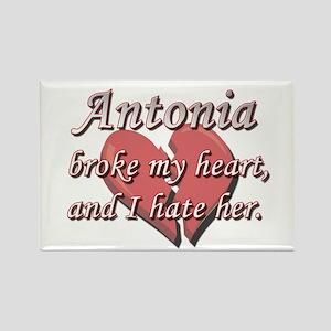Antonia broke my heart and I hate her Rectangle Ma