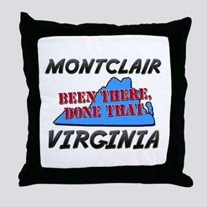 montclair virginia - been there, done that Throw P
