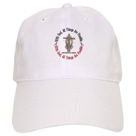 With God Cross Parkinson's Cap