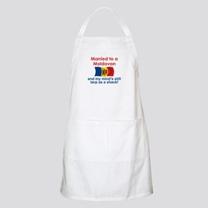 Married to a Moldovan BBQ Apron