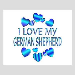 German Shepherd Small Poster