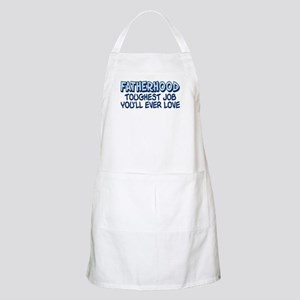 FATHERHOOD TOUGHEST JOB... BBQ Apron