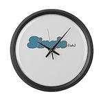 Single(ish) Large Wall Clock
