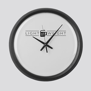 LIGHTWEIGHT (light) Large Wall Clock