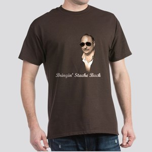 Axelrod - Bringin' Stache Back - Dark T-Shirt
