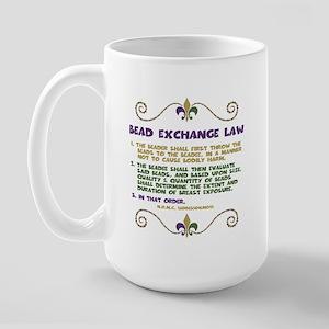 Bead Exchange Law Large Mug