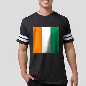 Ivory Coast Flag Mens Football Shirt