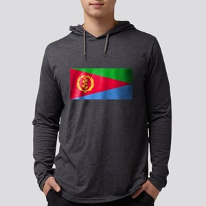 Flag of Eritrea Mens Hooded Shirt