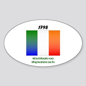 Year of the French Oval Sticker