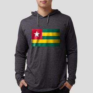 Flag of Togo Mens Hooded Shirt