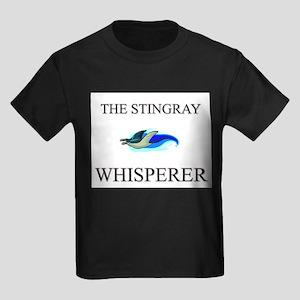 The Stingray Whisperer Kids Dark T-Shirt