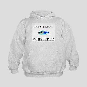 The Stingray Whisperer Kids Hoodie