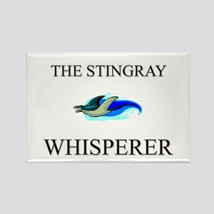 The Stingray Whisperer Rectangle Magnet
