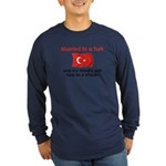 Married to a Turk Long Sleeve Dark T-Shirt