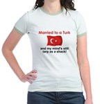 Married to a Turk Jr. Ringer T-Shirt