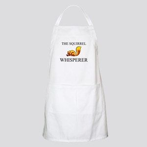 The Squirrel Whisperer BBQ Apron