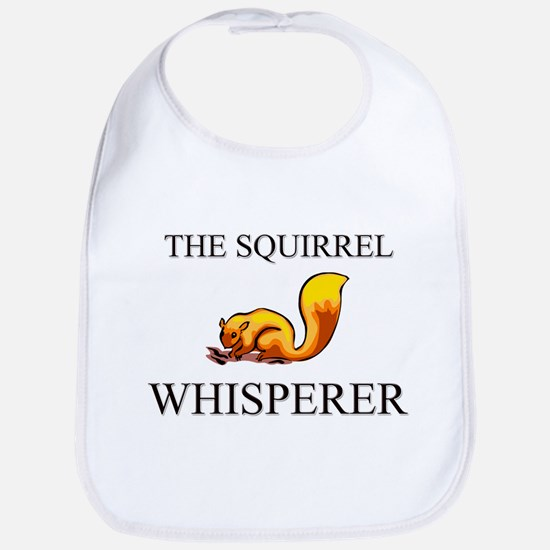 The Squirrel Whisperer Bib