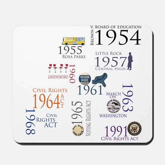 Black History Special Designs Mousepad