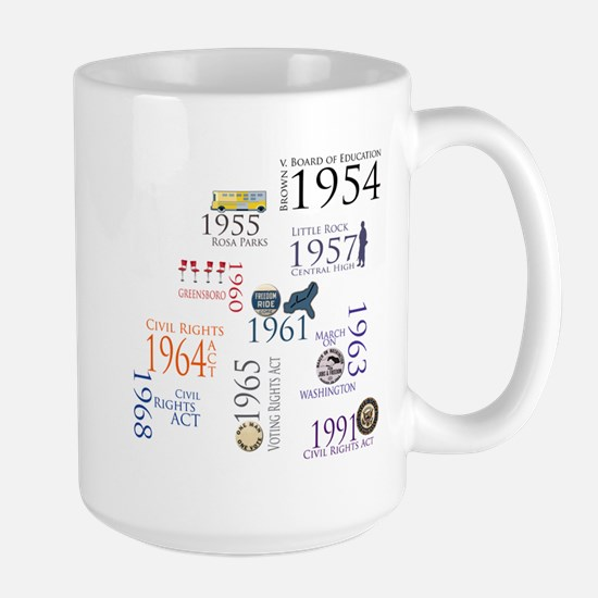 Black History Special Designs Large Mug