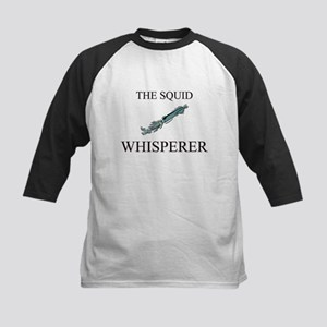 The Squid Whisperer Kids Baseball Jersey
