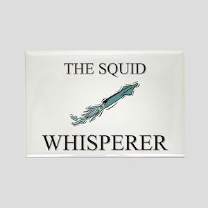 The Squid Whisperer Rectangle Magnet