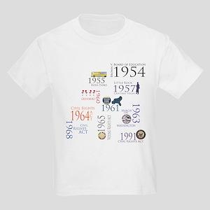 Black History Special Designs Kids Light T-Shirt