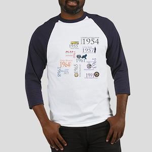 Black History Special Designs Baseball Jersey