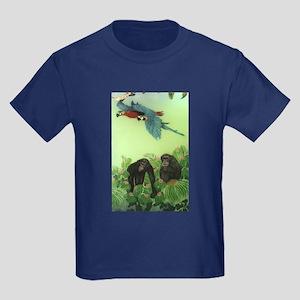 Chimps Kids Dark T-Shirt