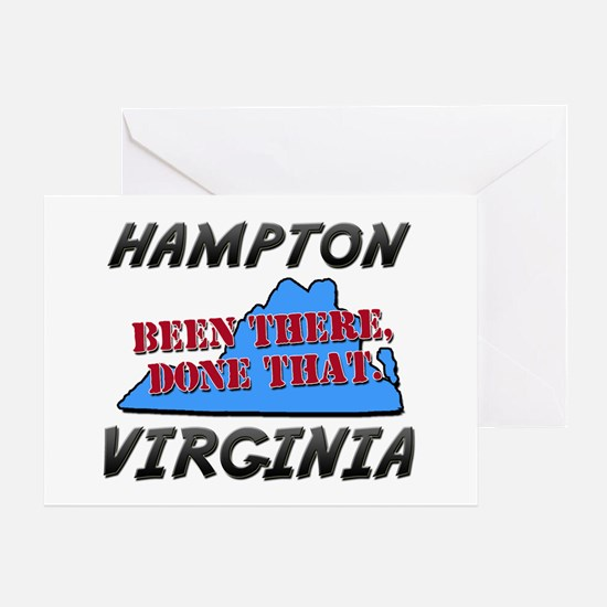 hampton virginia - been there, done that Greeting