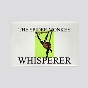 The Spider Monkey Whisperer Rectangle Magnet
