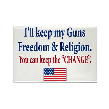 Anti Obama Rectangle Magnet