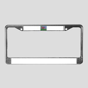 Orangehorse License Plate Frame