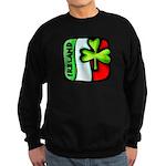 Irish Flag of Ireland Sweatshirt (dark)