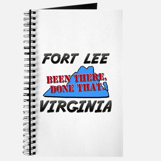 fort lee virginia - been there, done that Journal