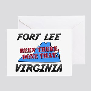 fort lee virginia - been there, done that Greeting