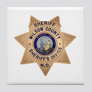 Wilson County Sheriff Tile Coaster