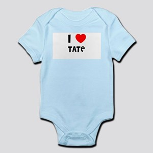 I LOVE TATE Infant Creeper