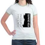 Sandstone for Granite Jr. Ringer T-Shirt