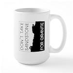 Sandstone for Granite Large Mug