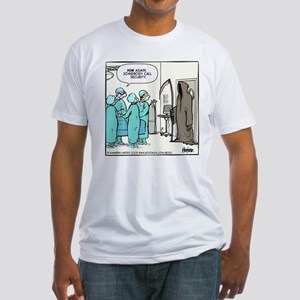 Death in the OR Fitted T-Shirt