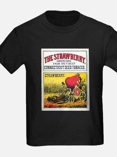 Unique Cartoon strawberry T