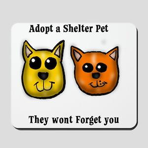 Shelter Pets Mousepad