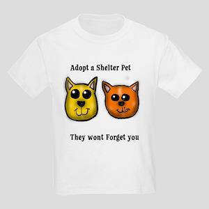 Shelter Pets Kids Light T-Shirt