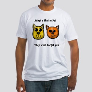 Shelter Pets Fitted T-Shirt